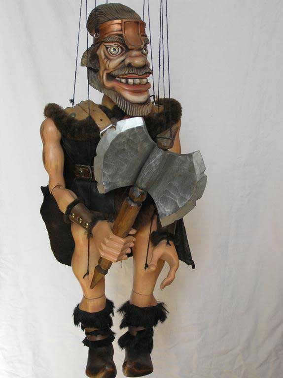 Wikinger , marionette puppe