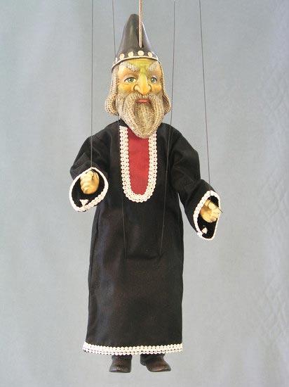 Zauberer marionette