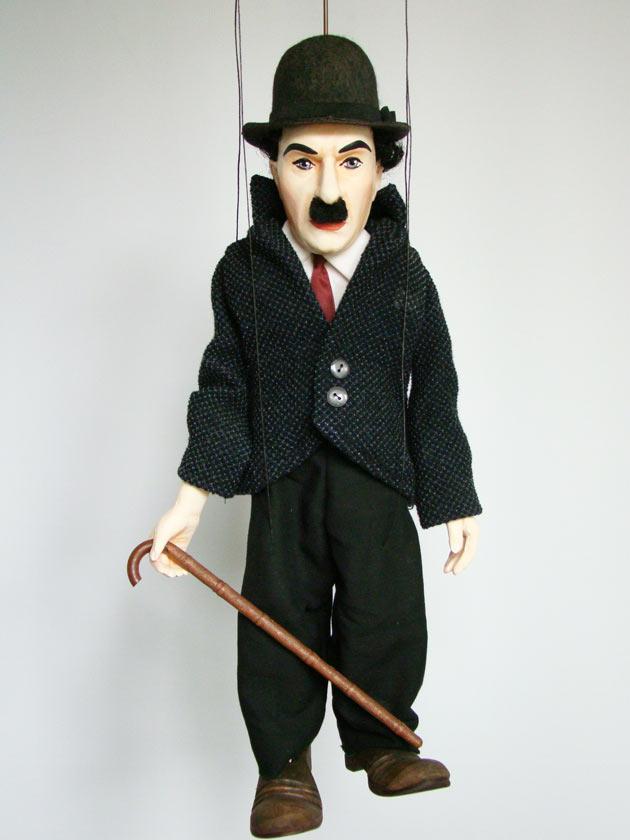 Chaplin marionette puppe