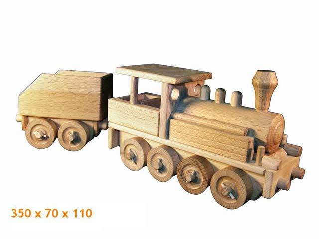 Dampf Lokomotive Holzspielzeug