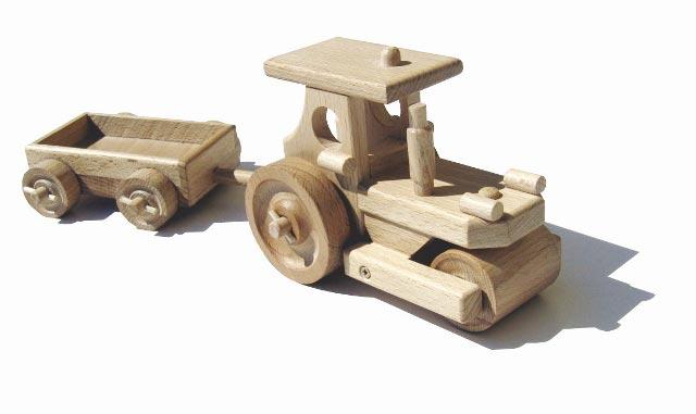 Dampf Trommel Holzspielzeug