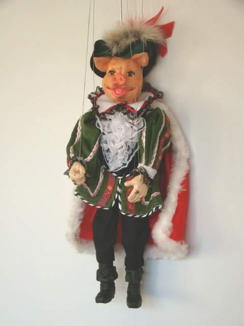 Eber , marionette puppe