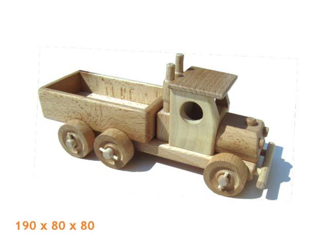 Fracht Auto, Holzspielzeug