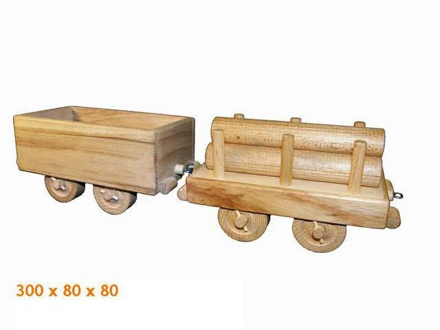 Fracht Wagen, Holzspielzeug