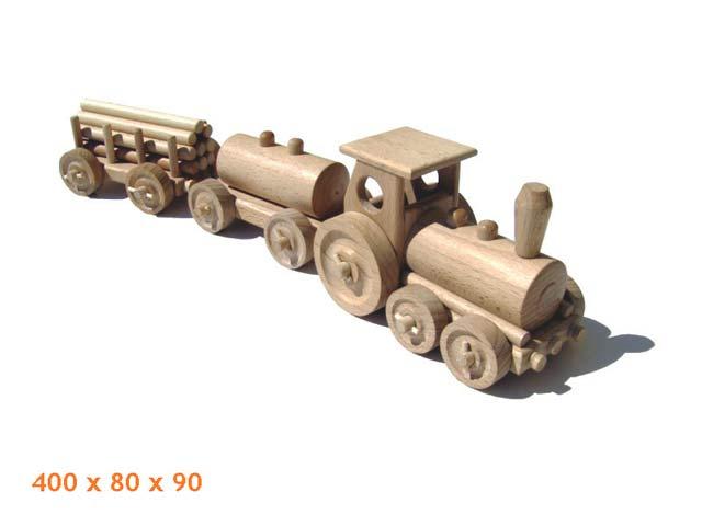 Fracht Zug Holzspielzeug
