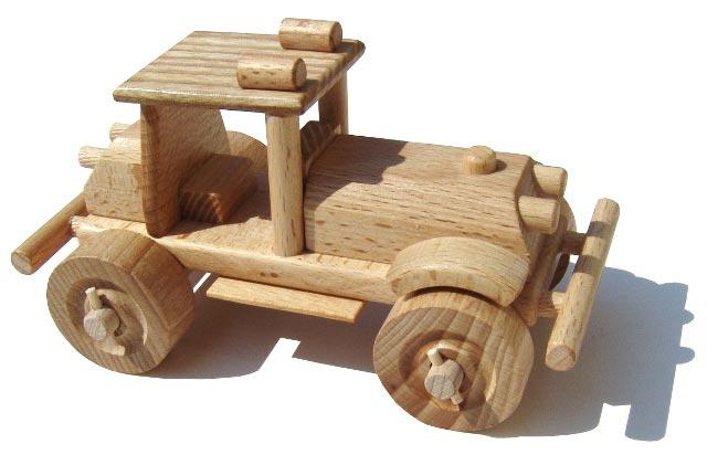 Gelände Auto Holzspielzeug