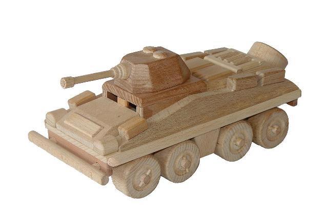 Gepanzert Transporteur Holzspielzeug