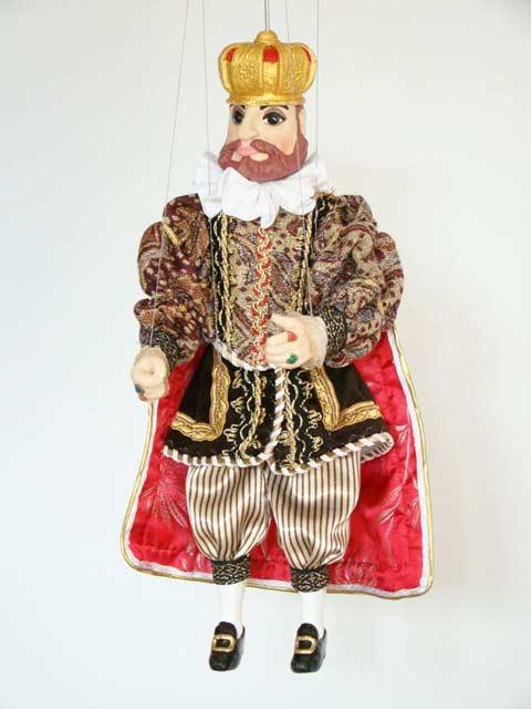 König Rudolf marionette