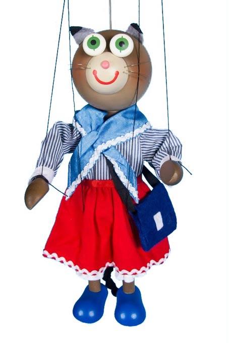 Katze Mutti, marionette