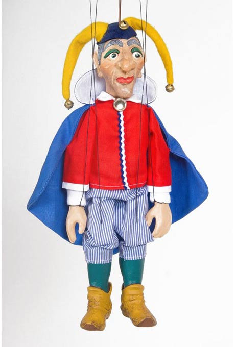 Hofnarr Tom, marionette