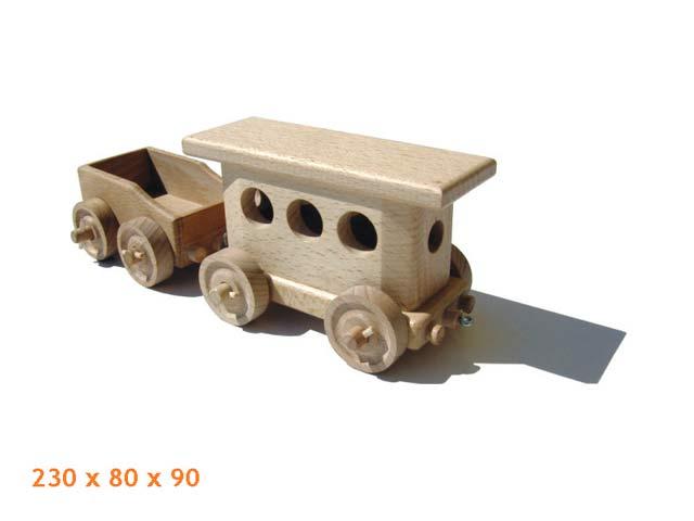 Personal Waggon Holzspielzeug