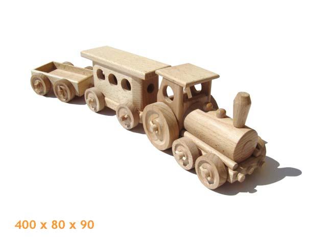 Personal Zug, Holzspielzeug