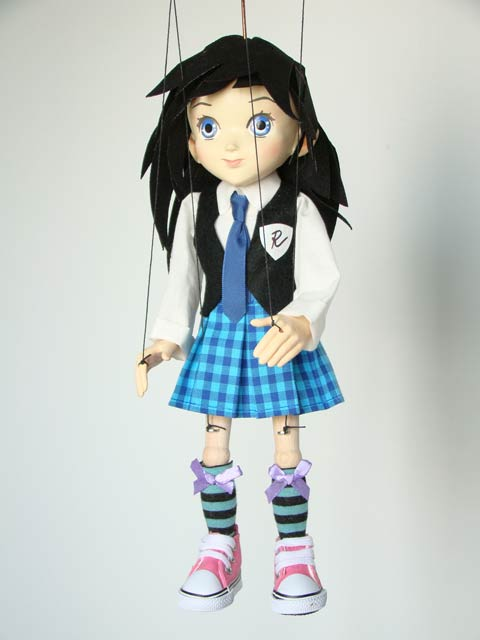 Anime student marionette puppe