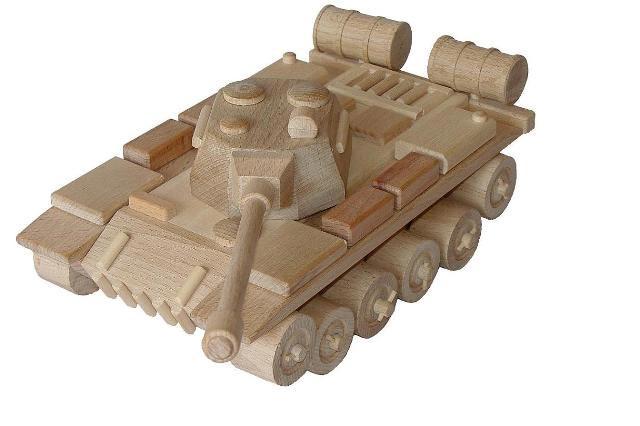 Russisch Tank Holzspielzeug