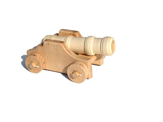 Stärke Böller Holzspielzeug