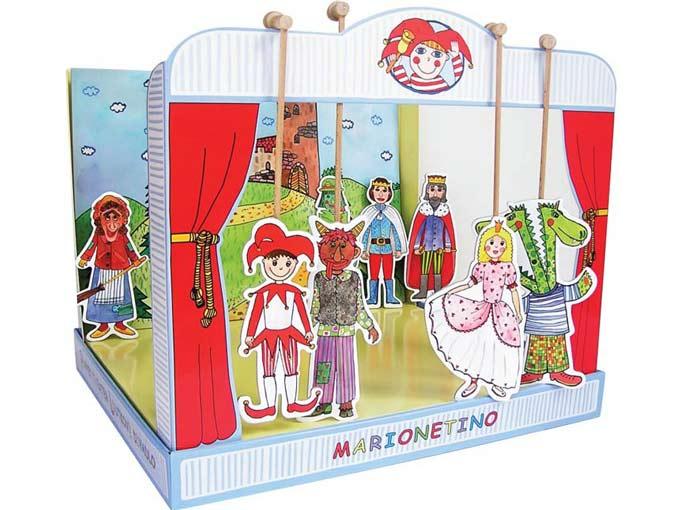 Hartpappen Puppentheater