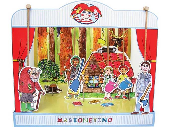 """Hartpappen Puppentheater  """"Hänsel und Gretel"""""""