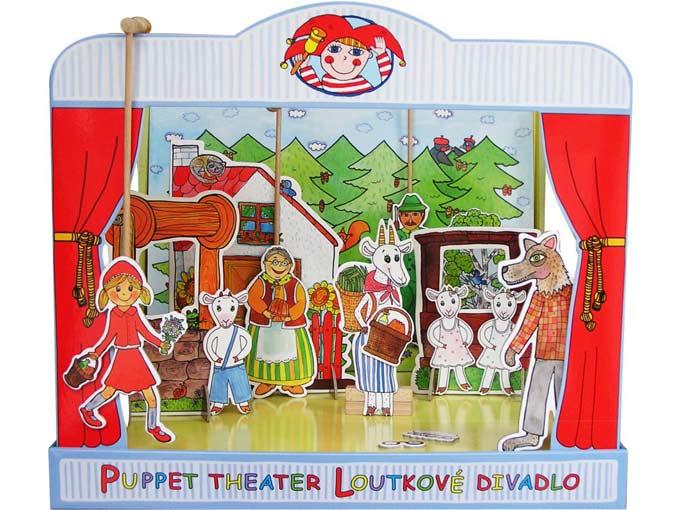 """Hartpappen Puppentheater """"Brüder Grimm"""""""