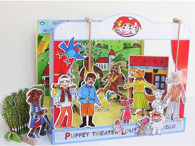 "Hartpappen Puppentheater ""Fabel"""