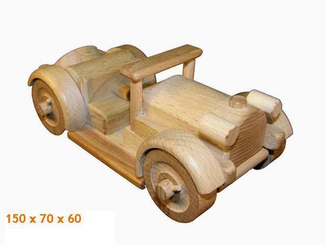 Veteran Auto Holzspielzeug