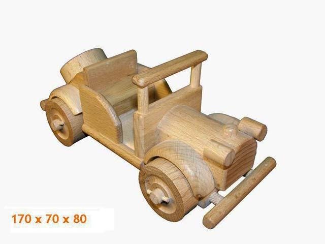 Veteran Auto, Holzspielzeug