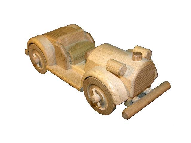 Veteran sportisch Auto Holzspielzeug