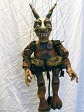 Teufel, marionette puppe
