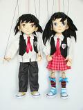 Anime student marionetten