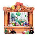 Familie Puppentheater und 14 marionetten