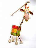 Giraffe marionette puppe